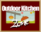 outdoor kitchen zone